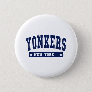 Yonkers New York College Style tee shirts 2 Inch Round Button