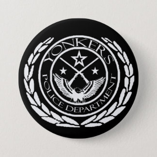 "Yonkers PD 3"" button/badge 3 Inch Round Button"