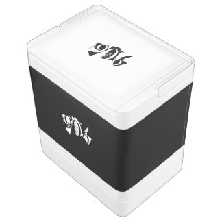 Yooper 906 Cooler Black & White