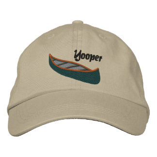 Yoopers Love Canoes Embroidered Hat