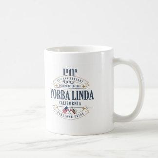 Yorba Linda, California 50th Anniversary Mug