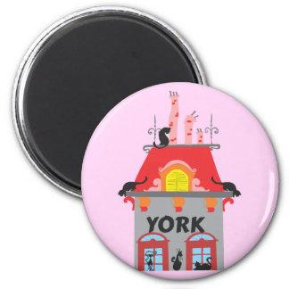 York 2 Inch Round Magnet