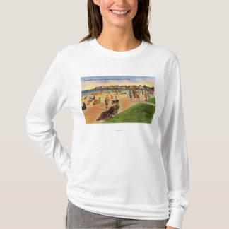 York Beach View of Concordville Beach & T-Shirt