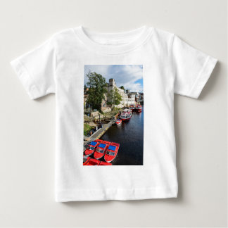 York City Guildhall and red boats Baby T-Shirt