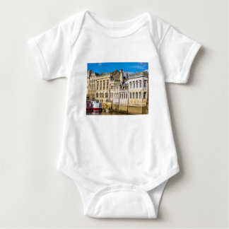 York City Guildhall river Ouse Baby Bodysuit