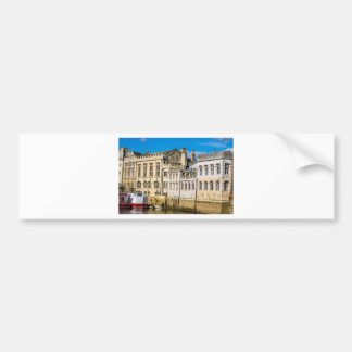 York City Guildhall river Ouse Bumper Sticker