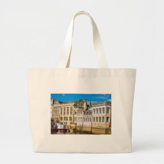 York City Guildhall river Ouse Large Tote Bag