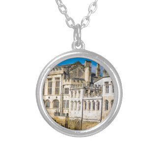 York City Guildhall river Ouse Silver Plated Necklace