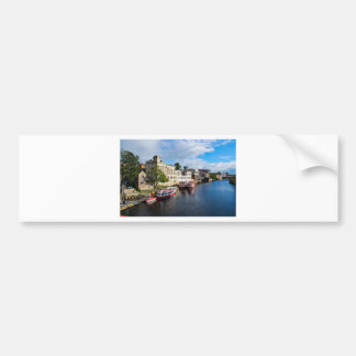 York Guildhall and river Ouse Bumper Sticker