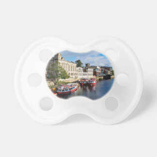 York Guildhall and river Ouse Pacifier