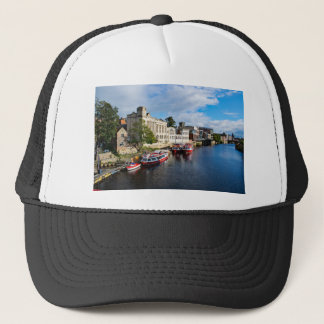 York Guildhall and river Ouse Trucker Hat