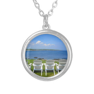 York Harbor View Silver Plated Necklace