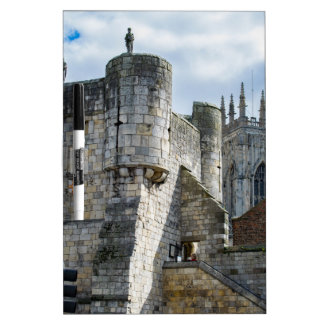 York Minster and Bootham Bar Dry Erase Board