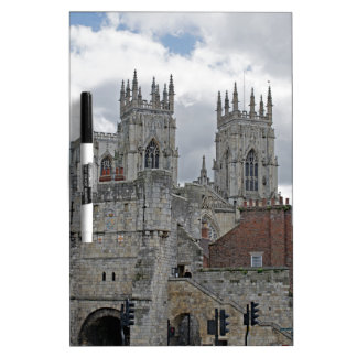 York Minster and Bootham Bar Dry-Erase Whiteboards