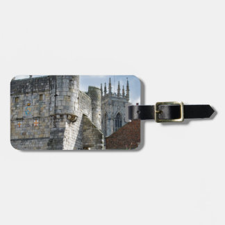 York Minster and Bootham Bar Luggage Tag