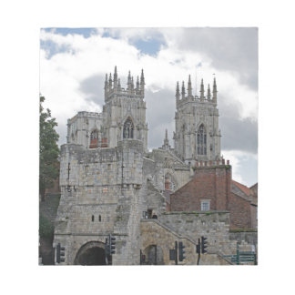 York Minster and Bootham Bar Notepad