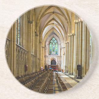 York Minster from inside. Beverage Coaster