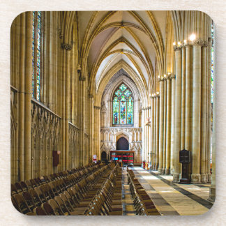 York Minster from inside. Beverage Coasters