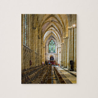 York Minster from inside. Jigsaw Puzzle