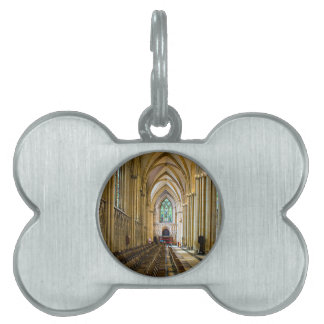 York Minster from inside. Pet Name Tag