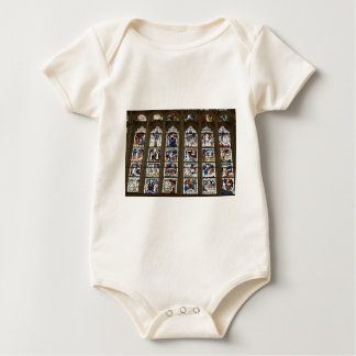 York Minster Great East Window. Baby Bodysuit