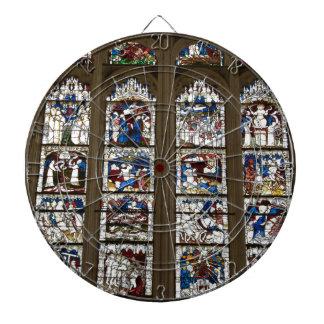 York Minster Great East Window. Dartboard