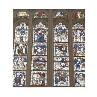 York Minster Great East Window. Notepads