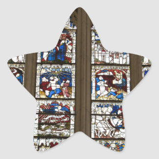 York Minster Great East Window. Star Sticker