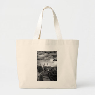 York Minster in the Sun Large Tote Bag
