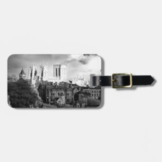 York Minster in the Sun Luggage Tag