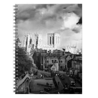 York Minster in the Sun Notebooks