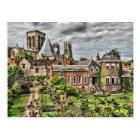 York Minster, UK Postcard