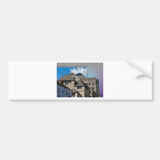 York Modern architecture out of bounds Bumper Sticker