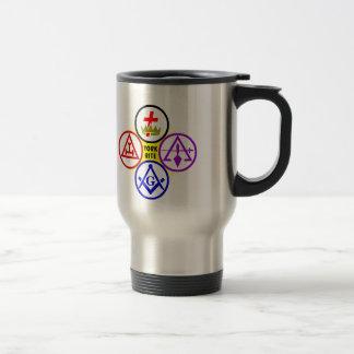 York Rite Travel Mug