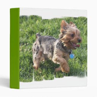 York Terrier Dog Binder