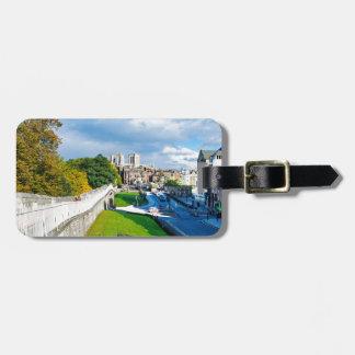 York Walls and Minster Bag Tag