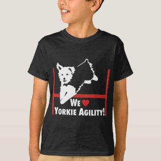 Yorkie Agility Love T-Shirt