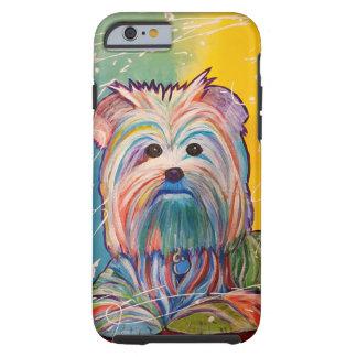 Yorkie Art phone case