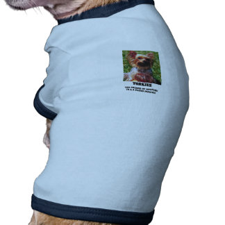 Yorkie Attitude Doggie Shirt