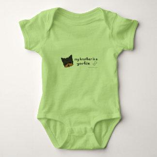 yorkie baby bodysuit