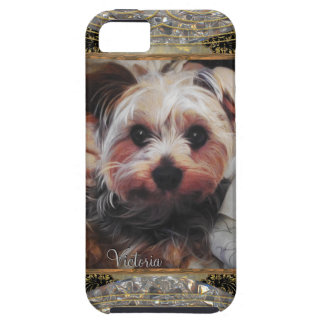 Yorkie Chilling or Insert Your Own Photo iPhone 5 Covers