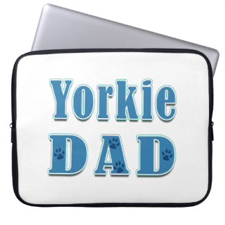 Yorkie Dad Laptop Sleeve