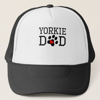 Yorkie Dad Trucker Hat