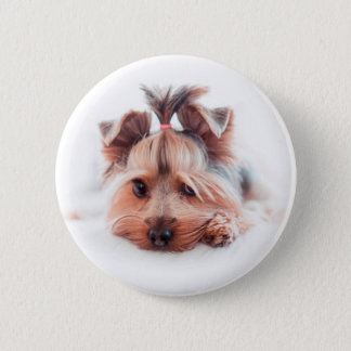 Yorkie Dog Love Yorkies Yorkshire Terrier 2 Inch Round Button