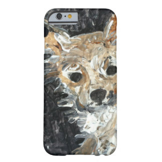 Yorkie Dog Painting Barely There iPhone 6 Case