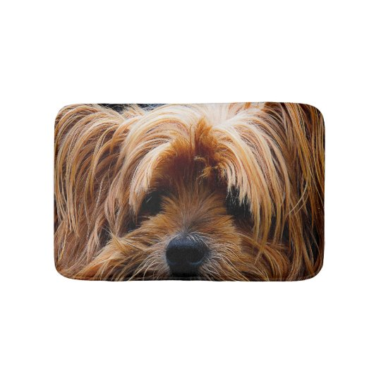 Yorkie Dog Pet Sleep Rug or Food Mat Home Decor