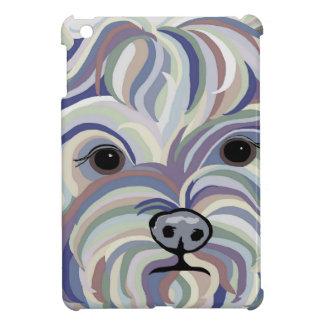 Yorkie in Denim Colors iPad Mini Covers