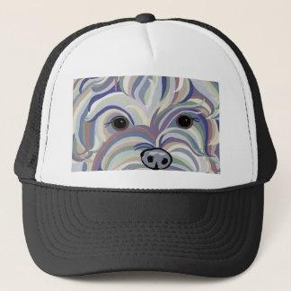 Yorkie in Denim Colors Trucker Hat