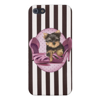 Yorkie in Shoe iPhone 5/5S Case