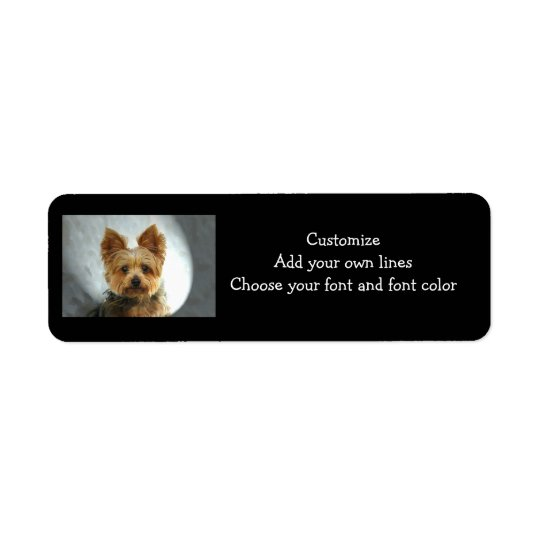 Yorkie  Label